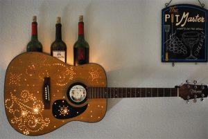 cach trang tri dan guitar