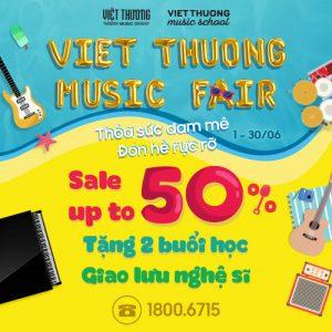 Việt Thương Music Fair 2019 diễn ra ở đâu?