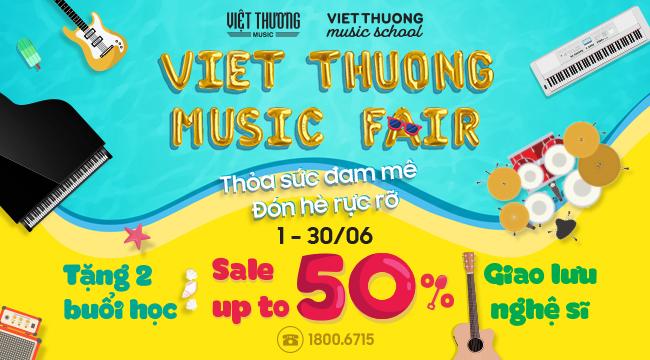 Mua gì tại Việt Thương Music Fair 2019