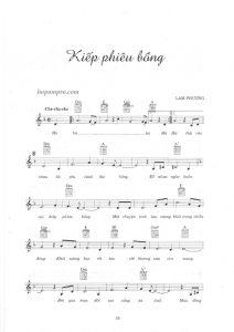 Hợp âm và Sheet nhạc bài hát Phiêu Bồng - Hợp Âm Chuẩn