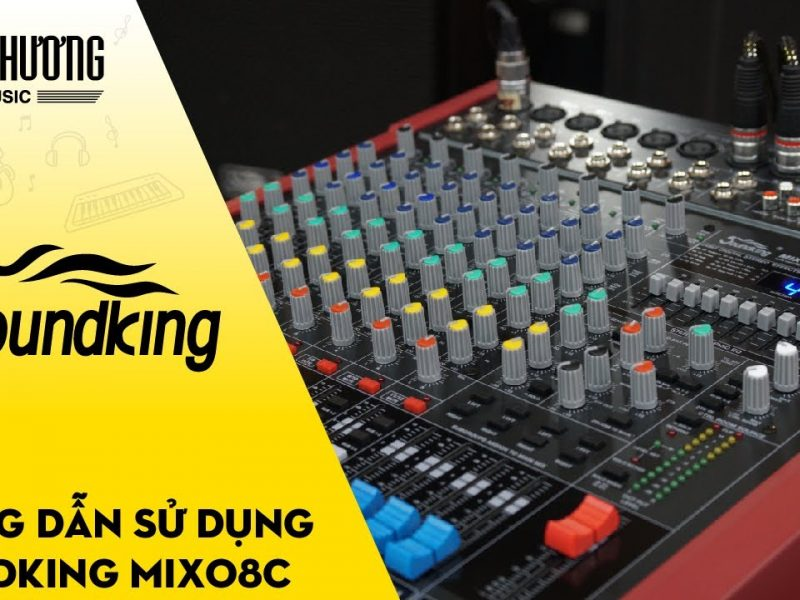 Cách sử dụng mixer karaoke