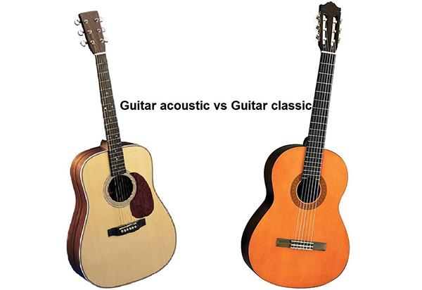 So sánh cẩn thận 2 cây guitar trước khi mua