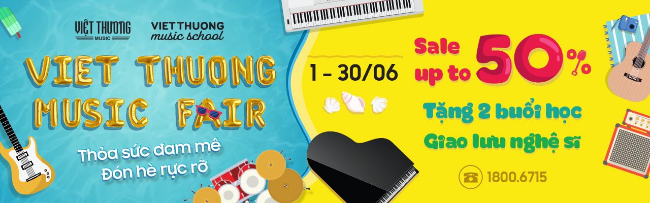 Việt Thương Music Fair mùa thứ 6 có gì hot?