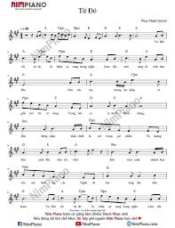 Hợp âm Từ Đó Sheet nhạc