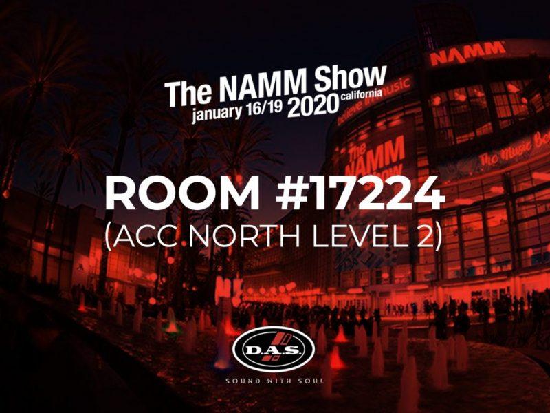 DAS Audio chọn NAMM 2020 để giới thiệu sản phẩm mới