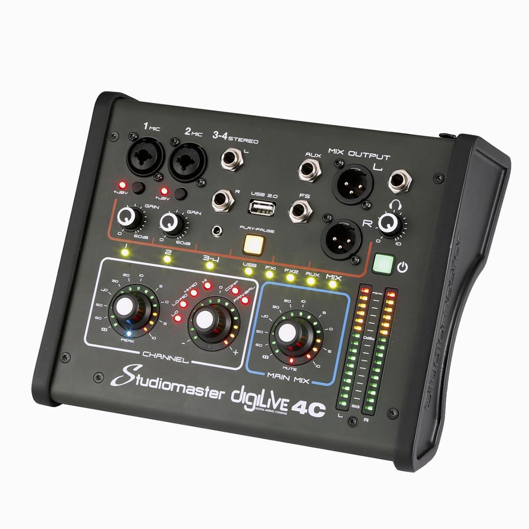 Carlsbro Mixer DIGILIVE04C Bàn trộn tín hiệu 4 kênh